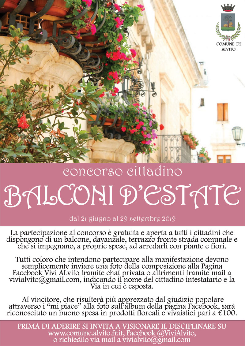 Balconi d'estate